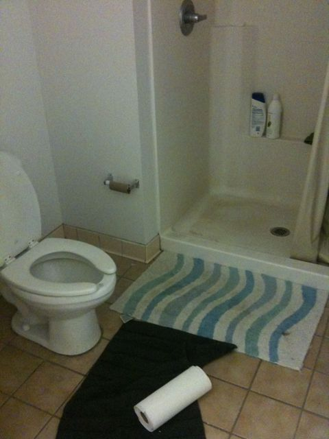 College bathrooms